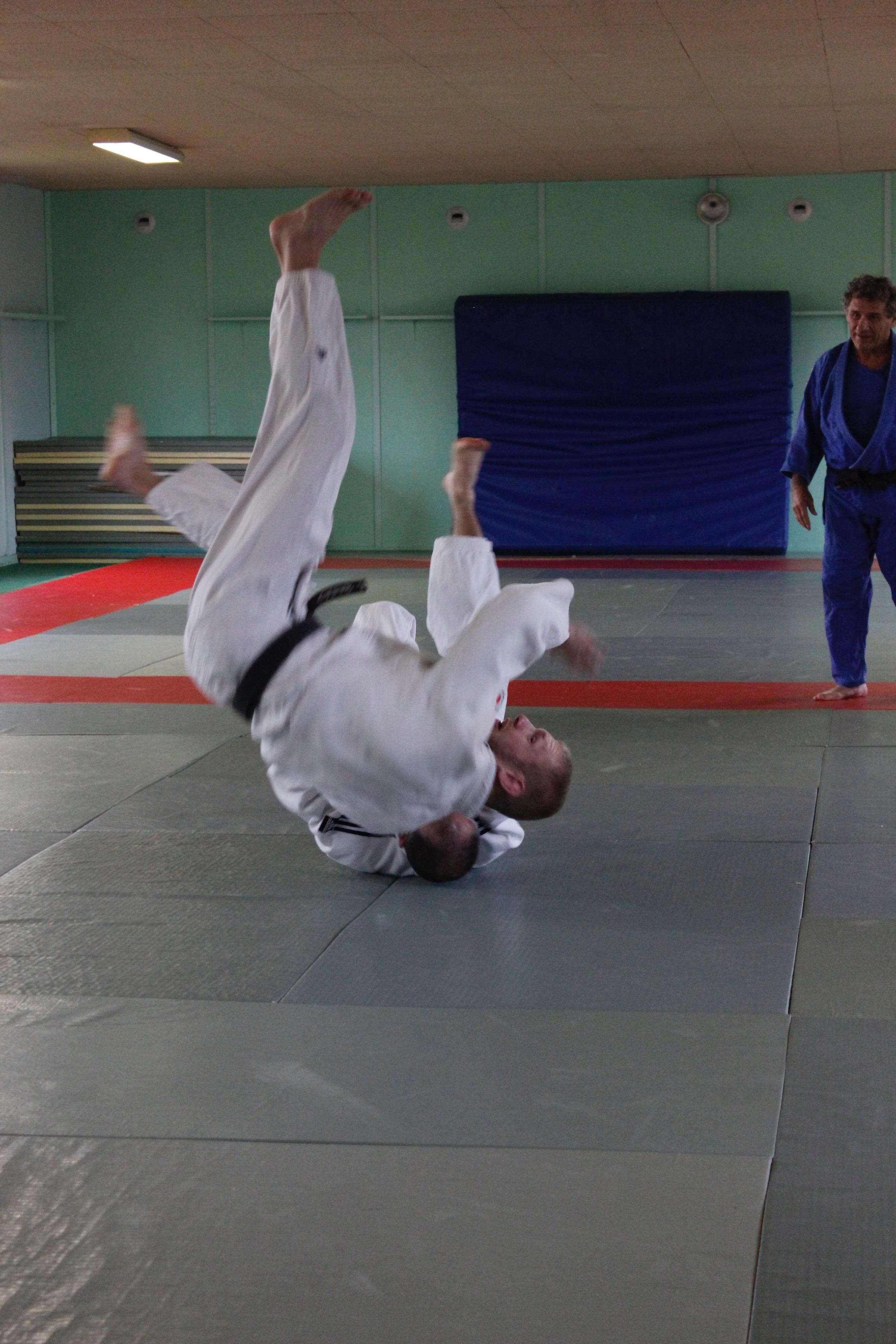 entrainement judo compétition